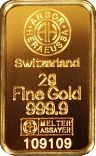 Lingotto oro investimento